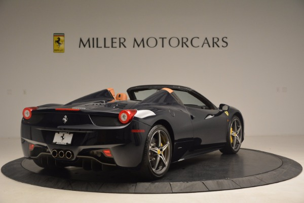 Used 2015 Ferrari 458 Spider for sale Sold at Aston Martin of Greenwich in Greenwich CT 06830 7