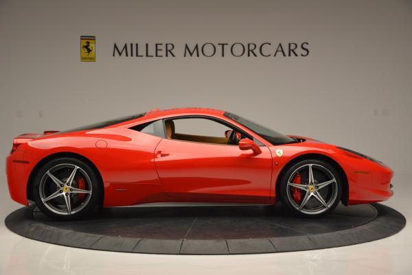 Used 2010 Ferrari 458 Italia for sale Sold at Aston Martin of Greenwich in Greenwich CT 06830 9