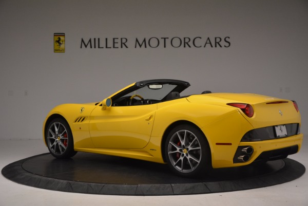 Used 2011 Ferrari California for sale Sold at Aston Martin of Greenwich in Greenwich CT 06830 4