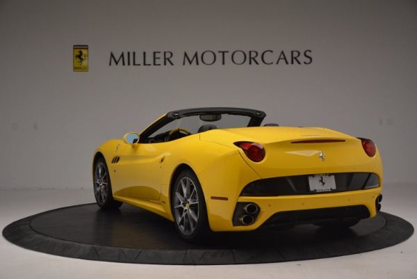 Used 2011 Ferrari California for sale Sold at Aston Martin of Greenwich in Greenwich CT 06830 5