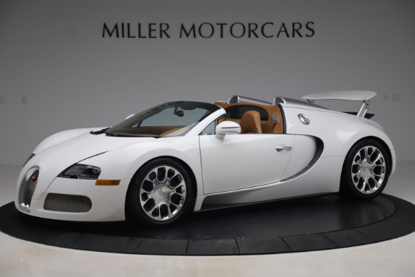 Used 2011 Bugatti Veyron 16.4 Grand Sport for sale Call for price at Aston Martin of Greenwich in Greenwich CT 06830 2