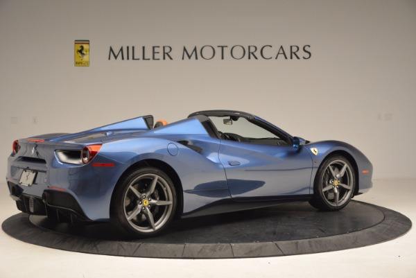 Used 2017 Ferrari 488 Spider for sale Sold at Aston Martin of Greenwich in Greenwich CT 06830 8