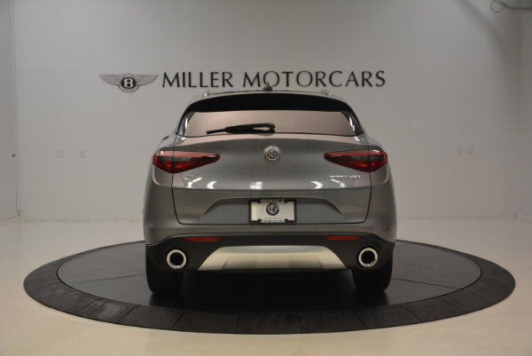 New 2018 Alfa Romeo Stelvio Q4 for sale Sold at Aston Martin of Greenwich in Greenwich CT 06830 6