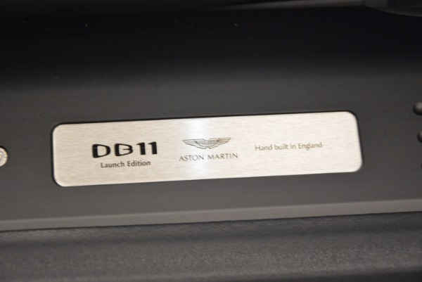 Used 2017 Aston Martin DB11 for sale Sold at Aston Martin of Greenwich in Greenwich CT 06830 21