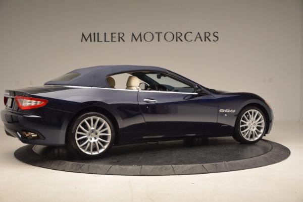 Used 2016 Maserati GranTurismo for sale Sold at Aston Martin of Greenwich in Greenwich CT 06830 20