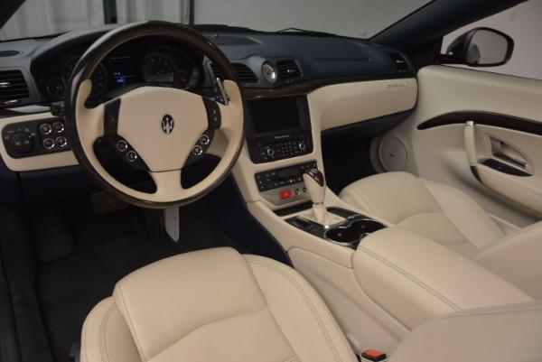 Used 2016 Maserati GranTurismo for sale Sold at Aston Martin of Greenwich in Greenwich CT 06830 26