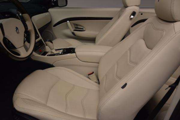Used 2016 Maserati GranTurismo for sale Sold at Aston Martin of Greenwich in Greenwich CT 06830 27