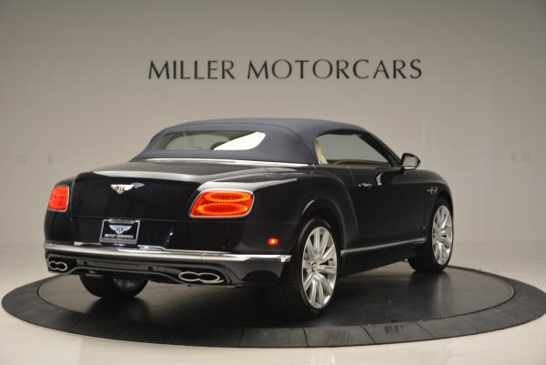 Used 2016 Bentley Continental GT V8 S Convertible for sale Sold at Aston Martin of Greenwich in Greenwich CT 06830 19