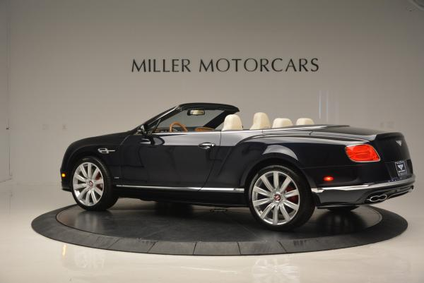 Used 2016 Bentley Continental GT V8 S Convertible for sale Sold at Aston Martin of Greenwich in Greenwich CT 06830 4