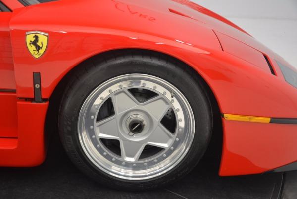 Used 1992 Ferrari F40 for sale Sold at Aston Martin of Greenwich in Greenwich CT 06830 21