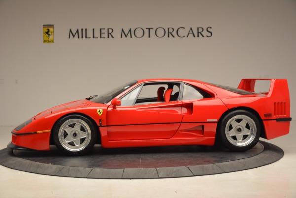 Used 1992 Ferrari F40 for sale Sold at Aston Martin of Greenwich in Greenwich CT 06830 3