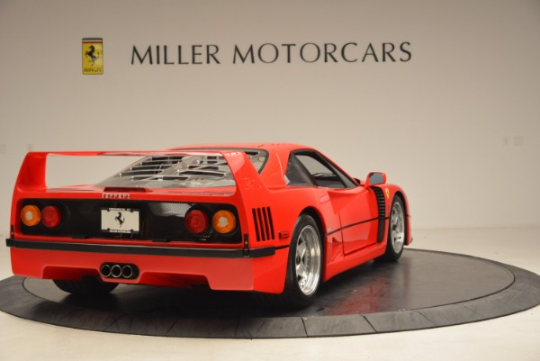 Used 1992 Ferrari F40 for sale Sold at Aston Martin of Greenwich in Greenwich CT 06830 8