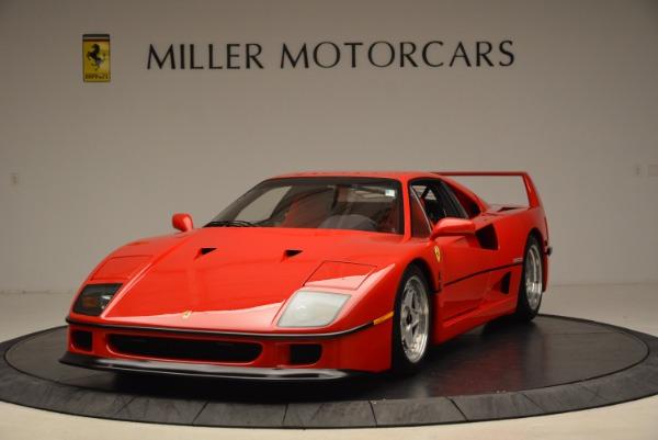 Used 1992 Ferrari F40 for sale Sold at Aston Martin of Greenwich in Greenwich CT 06830 1