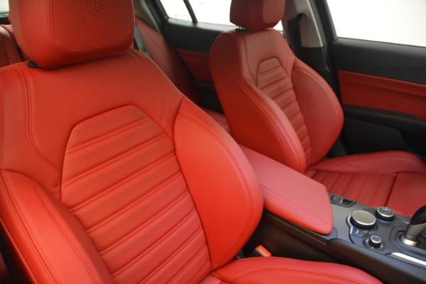 New 2017 Alfa Romeo Giulia Ti Sport Q4 for sale Sold at Aston Martin of Greenwich in Greenwich CT 06830 21