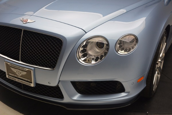 Used 2015 Bentley Continental GT V8 S for sale Sold at Aston Martin of Greenwich in Greenwich CT 06830 14