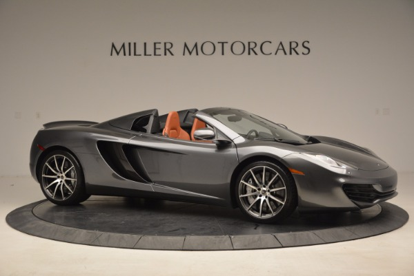 Used 2014 McLaren MP4-12C SPIDER Convertible for sale Sold at Aston Martin of Greenwich in Greenwich CT 06830 10