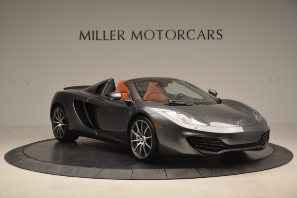 Used 2014 McLaren MP4-12C SPIDER Convertible for sale Sold at Aston Martin of Greenwich in Greenwich CT 06830 11