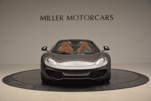 Used 2014 McLaren MP4-12C SPIDER Convertible for sale Sold at Aston Martin of Greenwich in Greenwich CT 06830 12