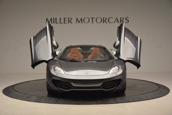 Used 2014 McLaren MP4-12C SPIDER Convertible for sale Sold at Aston Martin of Greenwich in Greenwich CT 06830 13
