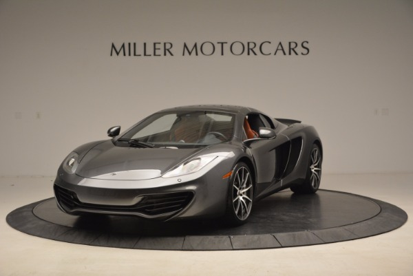 Used 2014 McLaren MP4-12C SPIDER Convertible for sale Sold at Aston Martin of Greenwich in Greenwich CT 06830 14