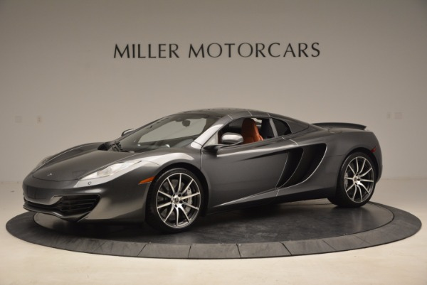 Used 2014 McLaren MP4-12C SPIDER Convertible for sale Sold at Aston Martin of Greenwich in Greenwich CT 06830 15
