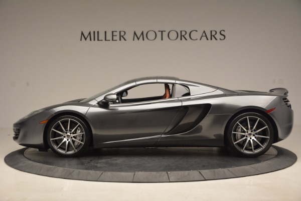 Used 2014 McLaren MP4-12C SPIDER Convertible for sale Sold at Aston Martin of Greenwich in Greenwich CT 06830 16
