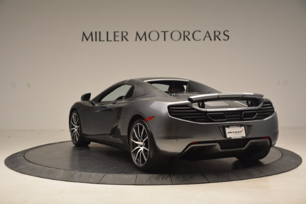 Used 2014 McLaren MP4-12C SPIDER Convertible for sale Sold at Aston Martin of Greenwich in Greenwich CT 06830 18