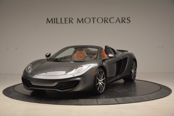Used 2014 McLaren MP4-12C SPIDER Convertible for sale Sold at Aston Martin of Greenwich in Greenwich CT 06830 2
