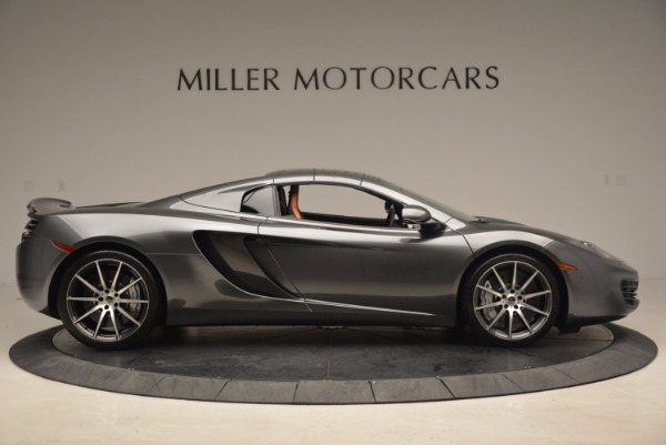 Used 2014 McLaren MP4-12C SPIDER Convertible for sale Sold at Aston Martin of Greenwich in Greenwich CT 06830 22
