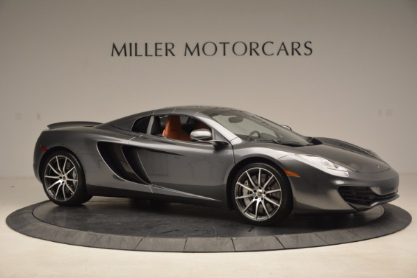 Used 2014 McLaren MP4-12C SPIDER Convertible for sale Sold at Aston Martin of Greenwich in Greenwich CT 06830 23
