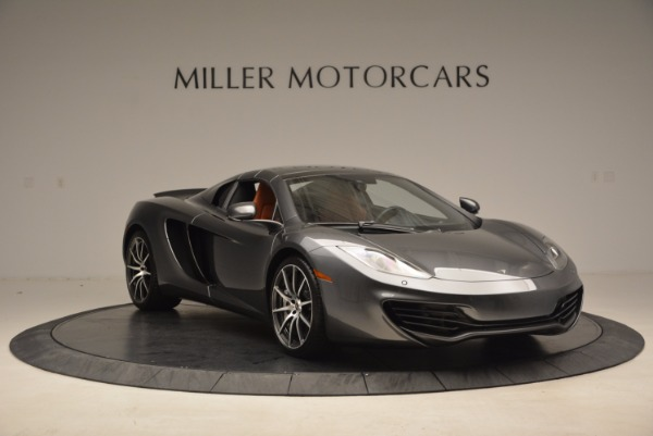 Used 2014 McLaren MP4-12C SPIDER Convertible for sale Sold at Aston Martin of Greenwich in Greenwich CT 06830 24