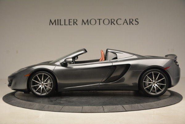 Used 2014 McLaren MP4-12C SPIDER Convertible for sale Sold at Aston Martin of Greenwich in Greenwich CT 06830 3