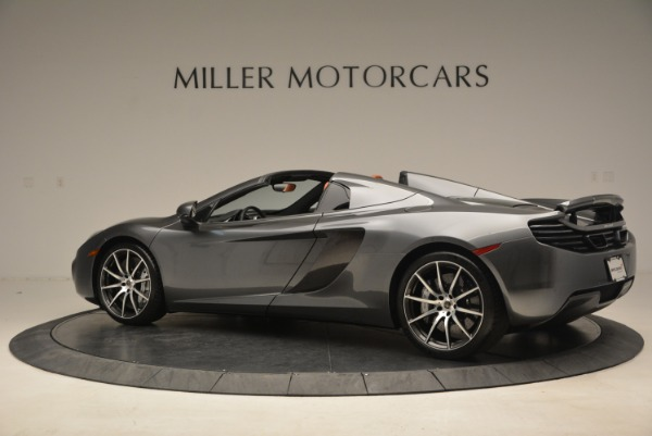 Used 2014 McLaren MP4-12C SPIDER Convertible for sale Sold at Aston Martin of Greenwich in Greenwich CT 06830 4