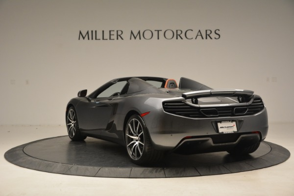 Used 2014 McLaren MP4-12C SPIDER Convertible for sale Sold at Aston Martin of Greenwich in Greenwich CT 06830 5