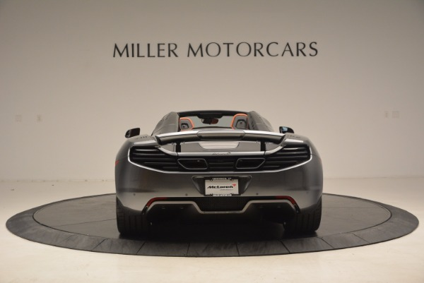 Used 2014 McLaren MP4-12C SPIDER Convertible for sale Sold at Aston Martin of Greenwich in Greenwich CT 06830 6