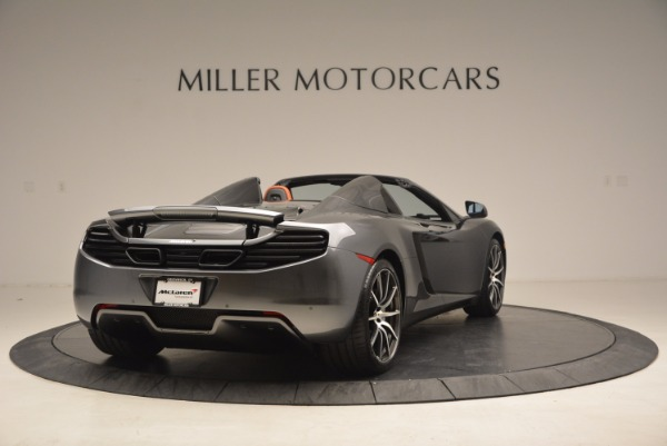 Used 2014 McLaren MP4-12C SPIDER Convertible for sale Sold at Aston Martin of Greenwich in Greenwich CT 06830 7
