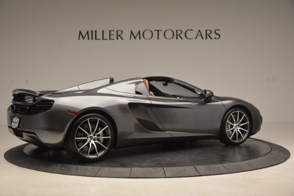 Used 2014 McLaren MP4-12C SPIDER Convertible for sale Sold at Aston Martin of Greenwich in Greenwich CT 06830 8