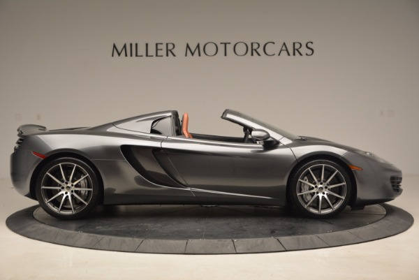 Used 2014 McLaren MP4-12C SPIDER Convertible for sale Sold at Aston Martin of Greenwich in Greenwich CT 06830 9