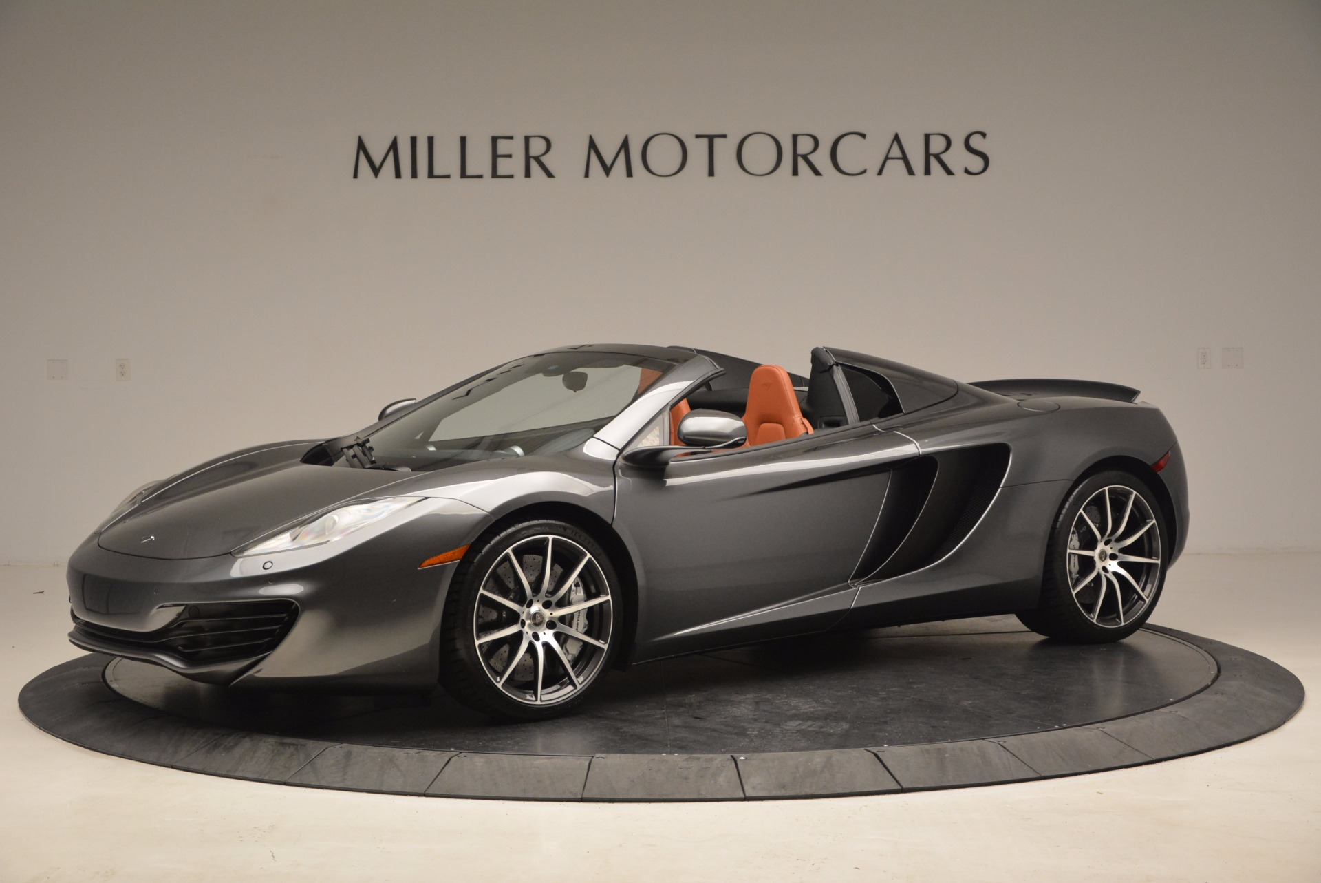 Used 2014 McLaren MP4-12C SPIDER Convertible for sale Sold at Aston Martin of Greenwich in Greenwich CT 06830 1