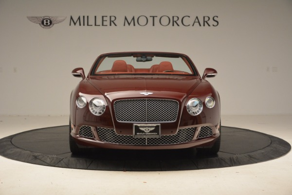 Used 2014 Bentley Continental GT W12 for sale Sold at Aston Martin of Greenwich in Greenwich CT 06830 12