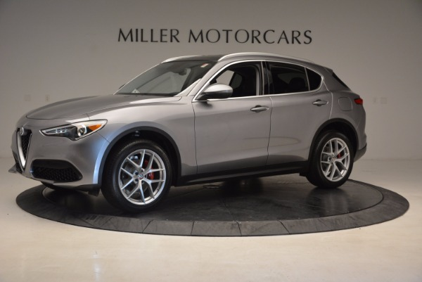 New 2018 Alfa Romeo Stelvio Q4 for sale Sold at Aston Martin of Greenwich in Greenwich CT 06830 2