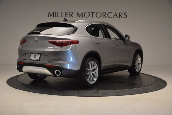 New 2018 Alfa Romeo Stelvio Q4 for sale Sold at Aston Martin of Greenwich in Greenwich CT 06830 7