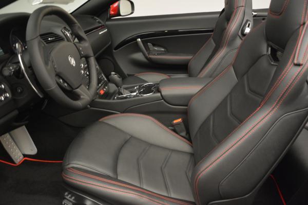 New 2017 Maserati GranTurismo Cab Sport for sale Sold at Aston Martin of Greenwich in Greenwich CT 06830 21