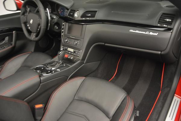 New 2017 Maserati GranTurismo Cab Sport for sale Sold at Aston Martin of Greenwich in Greenwich CT 06830 25