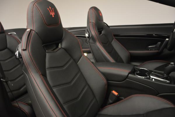 New 2017 Maserati GranTurismo Cab Sport for sale Sold at Aston Martin of Greenwich in Greenwich CT 06830 27