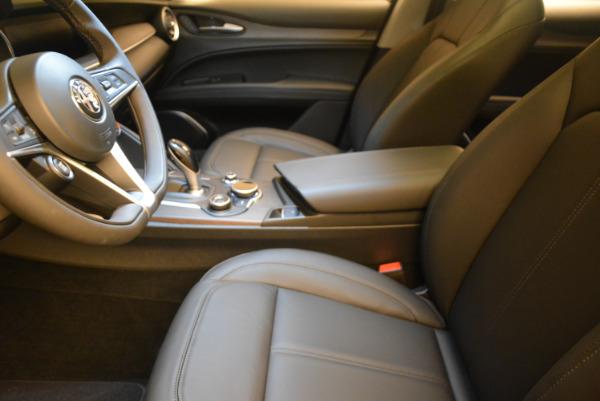 New 2018 Alfa Romeo Stelvio Ti Q4 for sale Sold at Aston Martin of Greenwich in Greenwich CT 06830 14