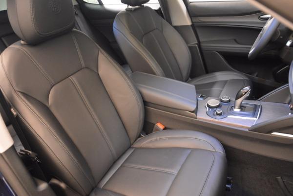 New 2018 Alfa Romeo Stelvio Ti Q4 for sale Sold at Aston Martin of Greenwich in Greenwich CT 06830 21