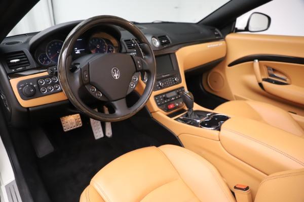 Used 2017 Maserati GranTurismo Convertible Sport for sale $84,900 at Aston Martin of Greenwich in Greenwich CT 06830 23