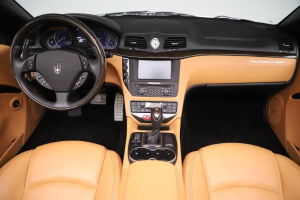 Used 2017 Maserati GranTurismo Convertible Sport for sale $84,900 at Aston Martin of Greenwich in Greenwich CT 06830 26