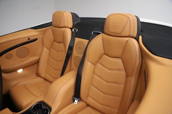 Used 2017 Maserati GranTurismo Convertible Sport for sale $84,900 at Aston Martin of Greenwich in Greenwich CT 06830 28